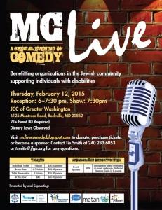 mc live flyer
