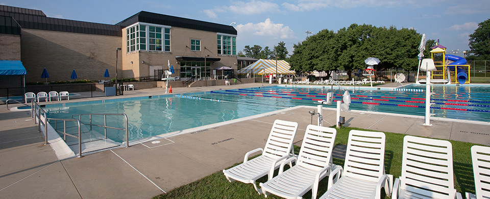 JCCGW's outdoor pool