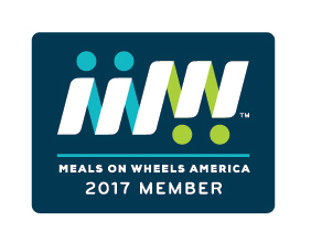 Meals on Wheels 2017 Member Badge