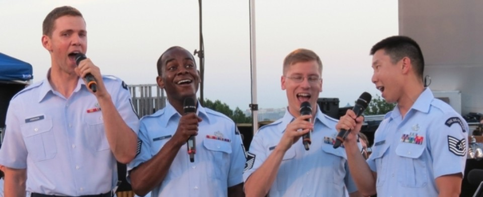 Air Force Band - Singing Sargeants quartetSlider