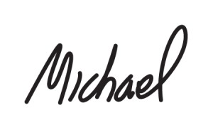 Michael F Signature