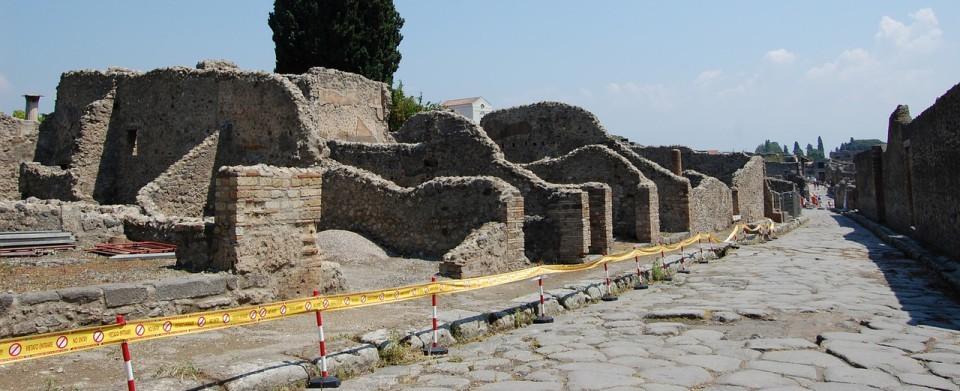 Pompeii Main Street Slider