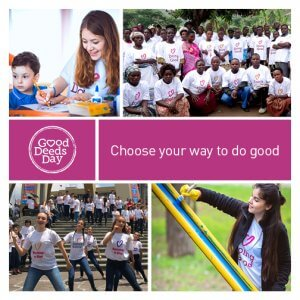 Good Deeds Day Collage - Choose Your Way to Do Good