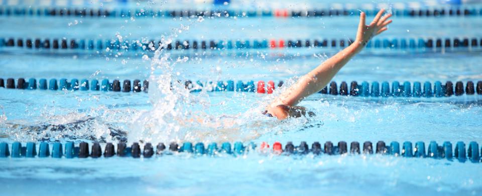 backstroke indoor pool