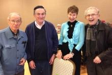 Charles Blum, Jacob Edeson, Linda Wechsler, Fred Blumenthal