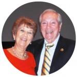 Herman Sy and Sheila (circle)