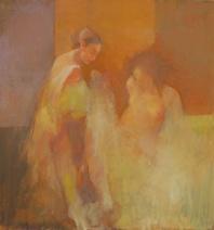 BAATSHEBA ll, oil on canvas