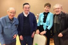 Charles Blum, Jacob Edeson, Linda Wechsler, Fred Blumenthal (2)