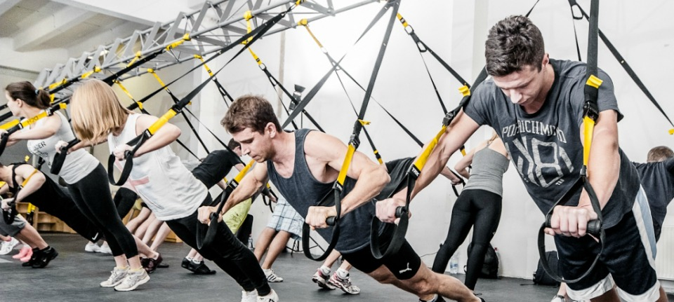 TRX Training Header