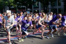 Purple Stride Run Image