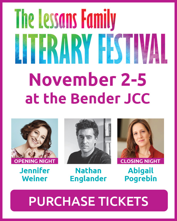 Tickets for our annual Literary Festival are on sale now!